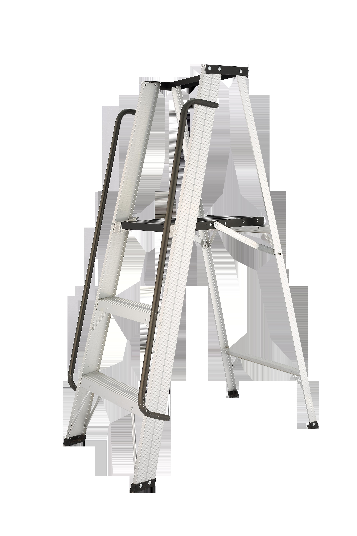 3'Liberti Medium duty aluminium platform ladder