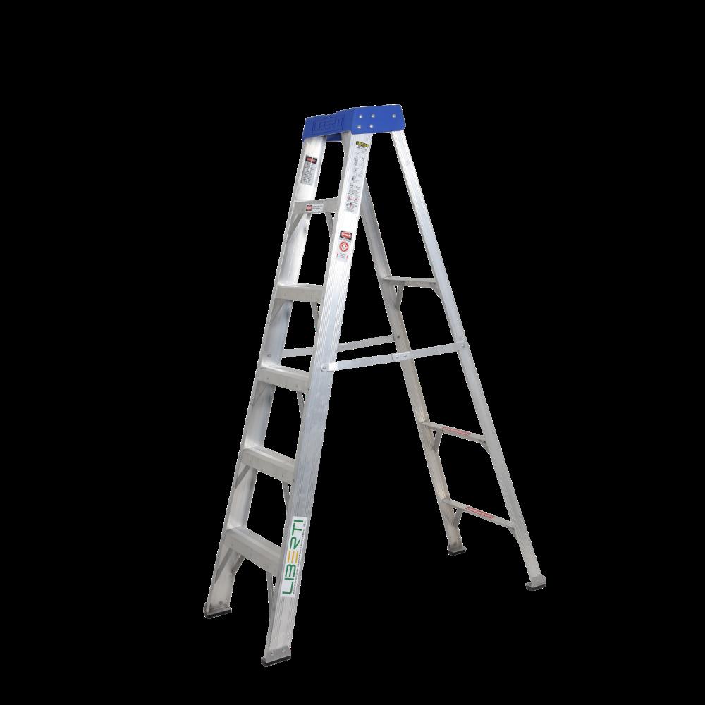 "6""Liberti HeavyDuty Professional Aluminium Stepladder"