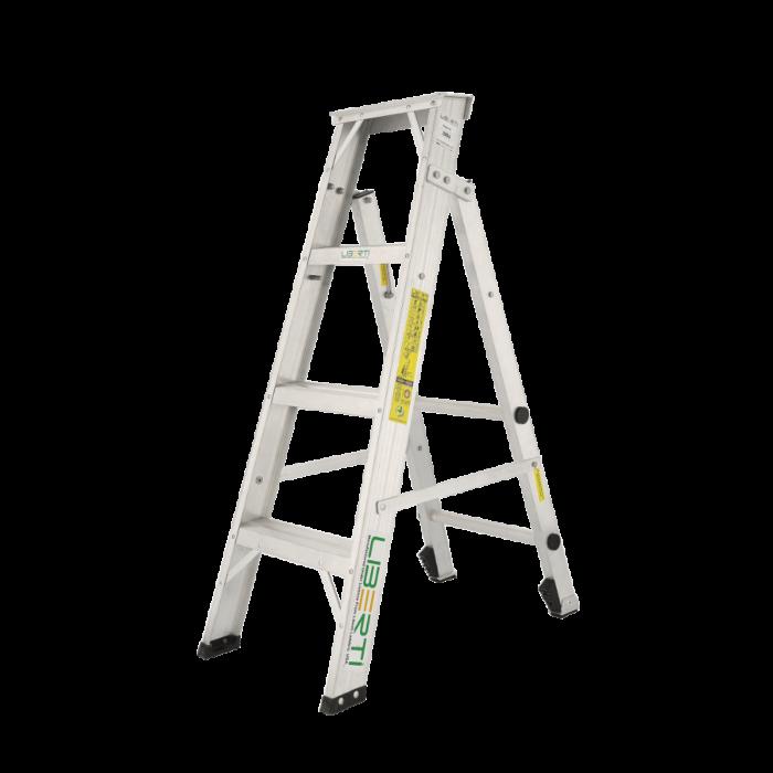 4'Liberti Aluminium Flip- Up(Combination) steps ladder