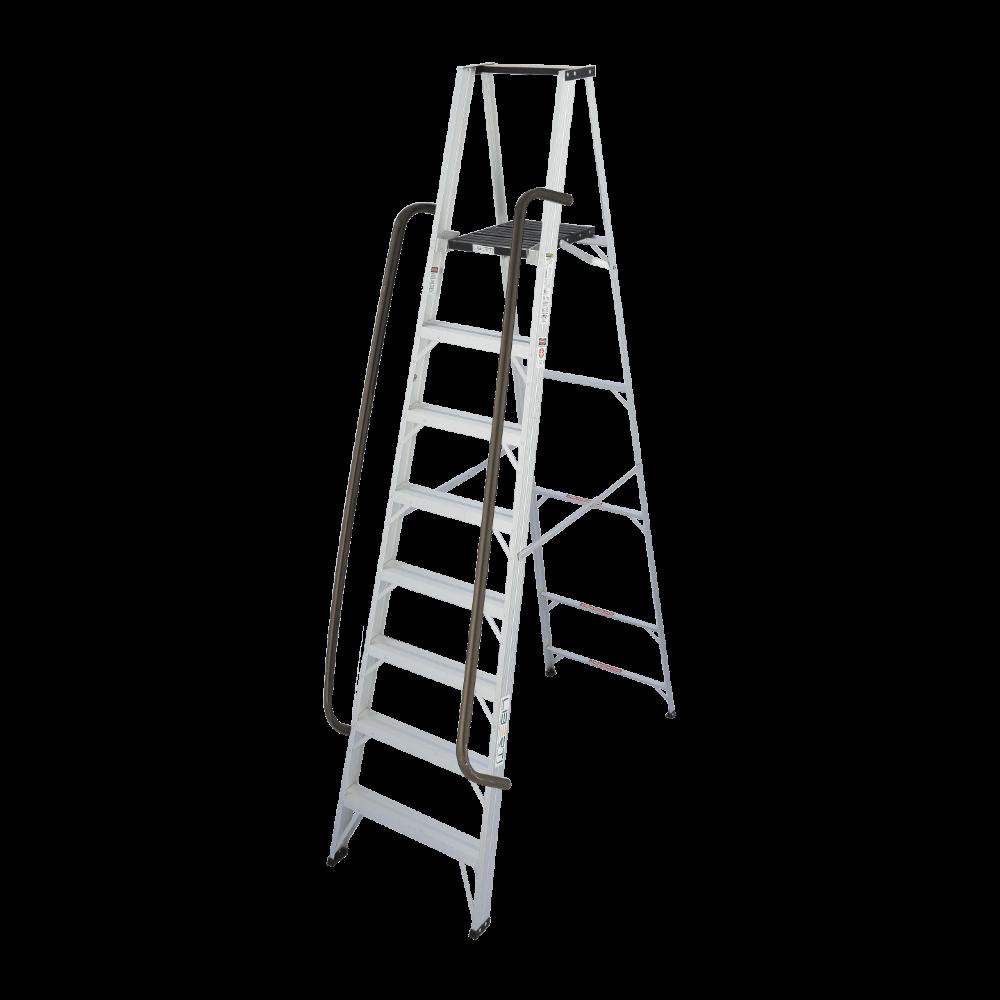 8'Liberti Medium duty aluminium platform ladder