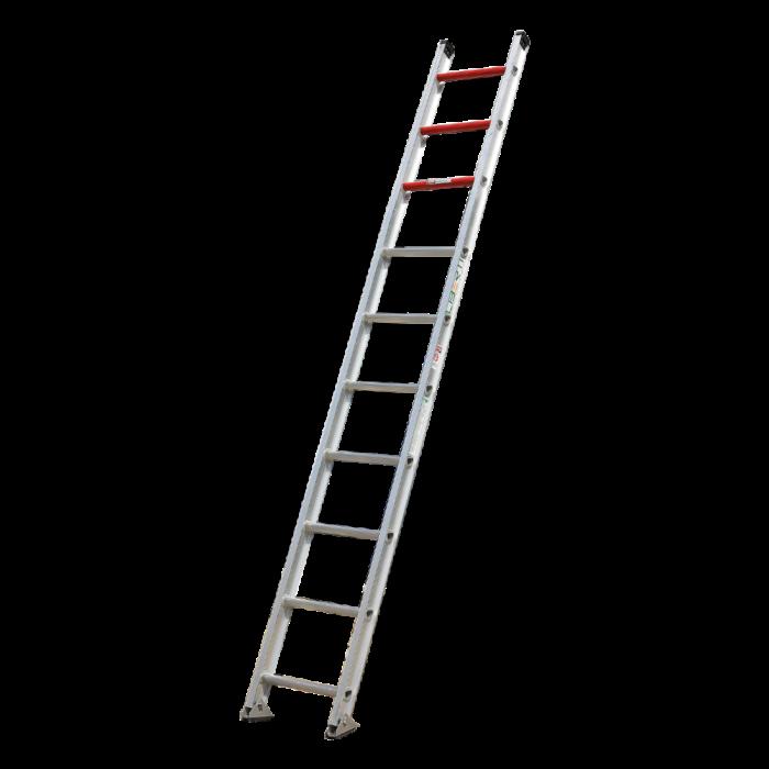 10'Liberty  Heavy duty aluminium single ladder