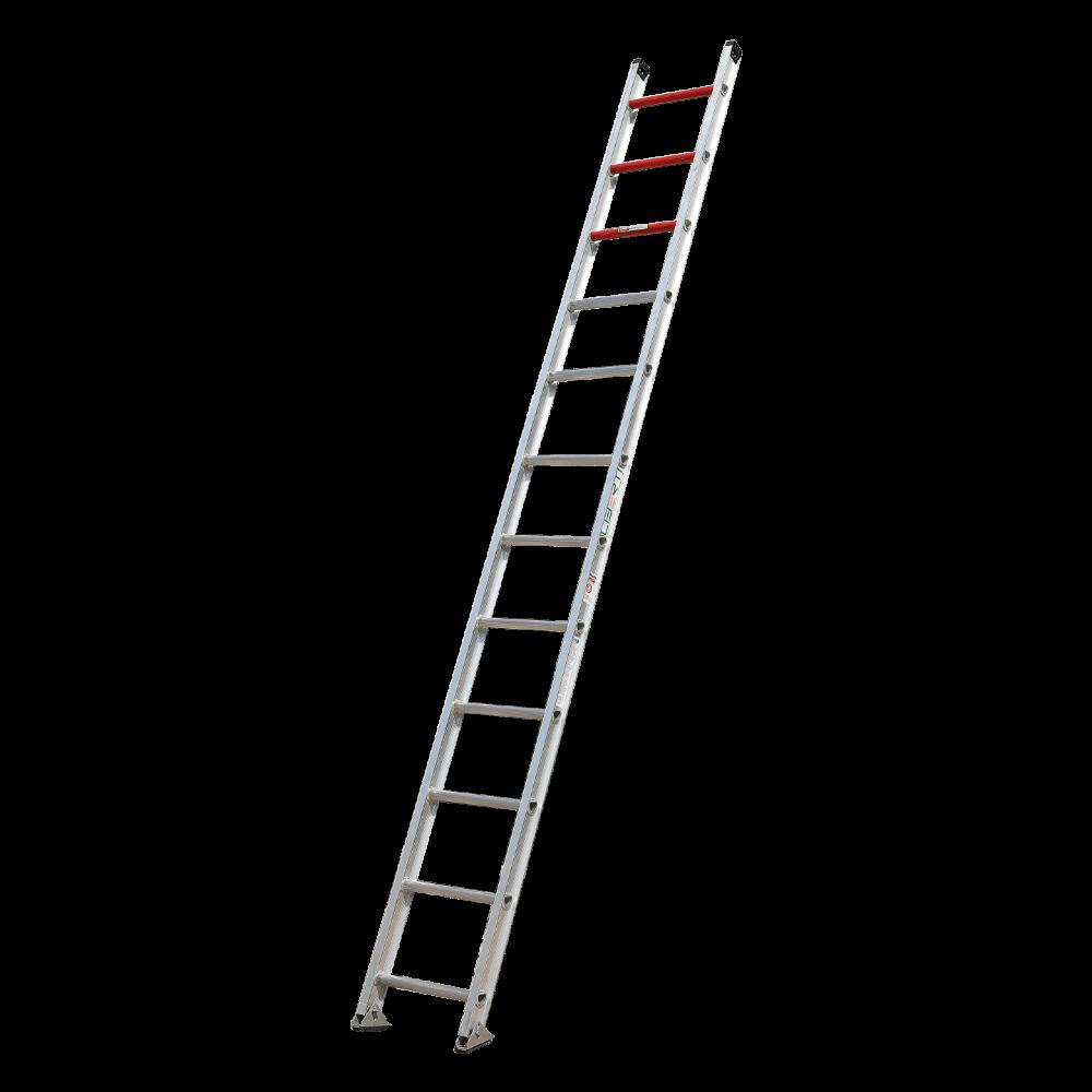 12'Liberty  Heavy duty aluminium single ladder