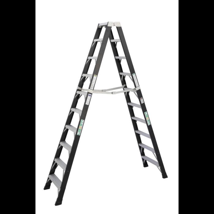 10'Liberti Special duty FRP Twin step Ladder