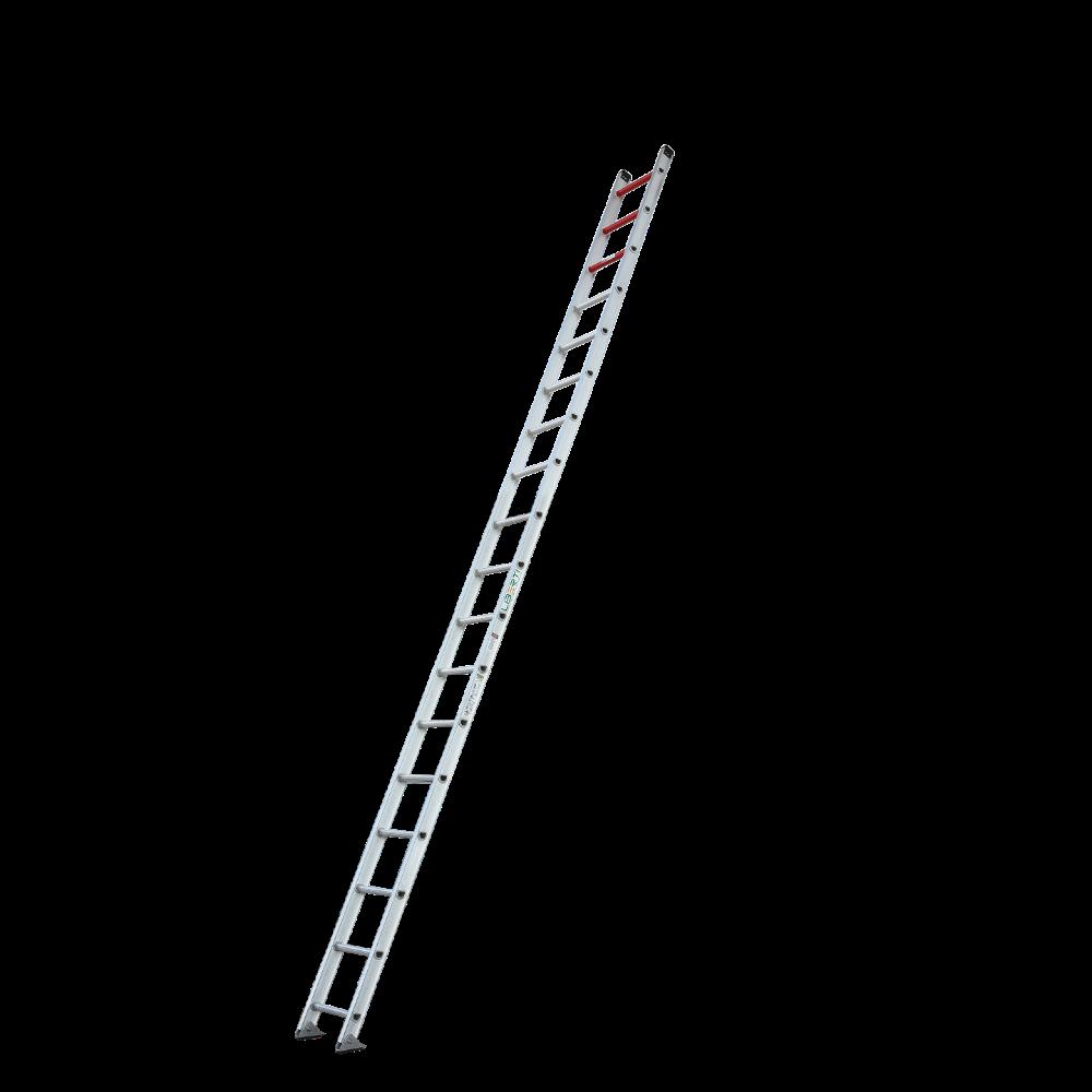 18'Liberty  Heavy duty aluminium single ladder