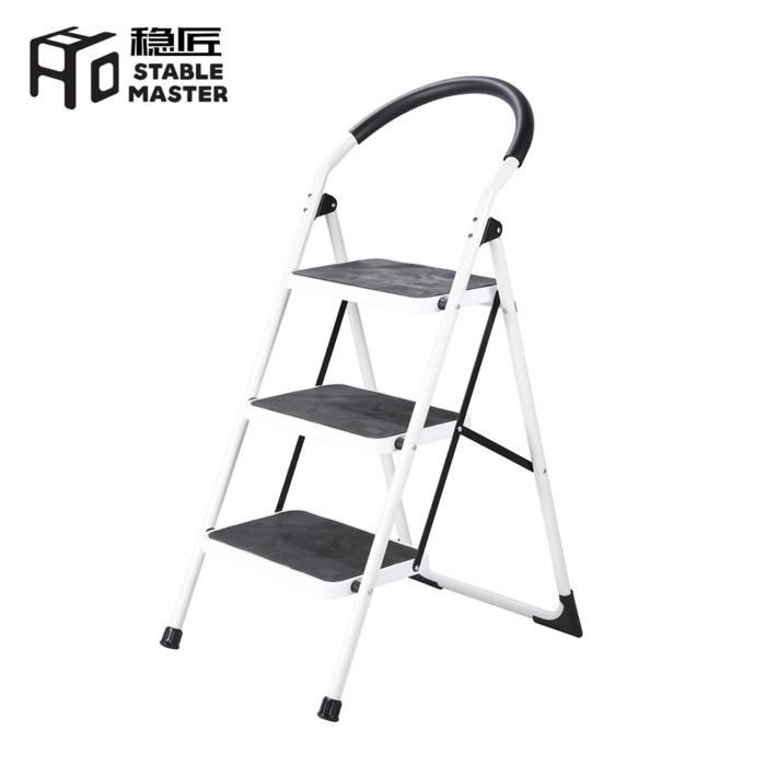 Liberti Robust 3 Step Steel Ladder